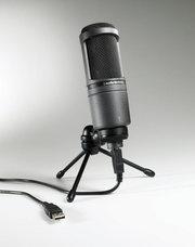 Студийный USB микрофон Audio-Technica AT2020 USB
